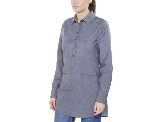 Icebreaker Kala Dress Women fathom hthr/jet hthr